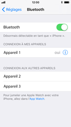 Apple iPhone 5s - iOS 11 - Bluetooth - connexion Bluetooth - Étape 9