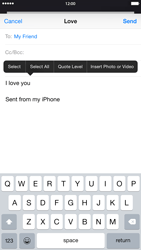 Apple iPhone 6 Plus - E-mail - Sending emails - Step 9