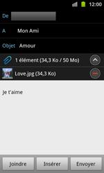 Samsung I8530 Galaxy Beam - E-mail - envoyer un e-mail - Étape 11