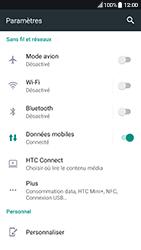 HTC 10 - Android Nougat - Internet - Utilisation à l