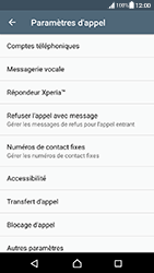 Sony Xperia XA - Android Nougat - Messagerie vocale - configuration manuelle - Étape 6