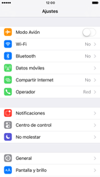 Apple iPhone 6s iOS 10 - Red - Seleccionar una red - Paso 3