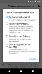 Sony Xperia XZ1 - Internet et connexion - Utiliser le mode modem par USB - Étape 8