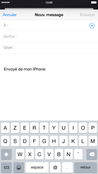Apple iPhone 6 Plus iOS 8 - E-mail - envoyer un e-mail - Étape 3