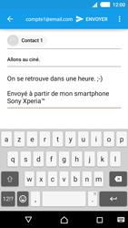 Sony Xperia M4 Aqua - E-mails - Envoyer un e-mail - Étape 9
