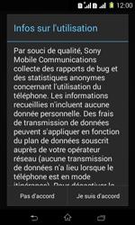 Sony Xpéria E1 Dual - Premiers pas - Créer un compte - Étape 34