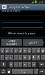 Samsung I8260 Galaxy Core - E-mail - Configuration manuelle - Étape 6