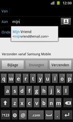 Samsung I8160 Galaxy Ace II - E-mail - E-mails verzenden - Stap 6