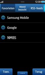 Samsung S8530 Wave II - Internet - internetten - Stap 10