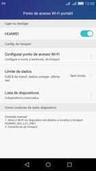 Huawei Y6 - Wi-Fi - Como usar seu aparelho como um roteador de rede wi-fi - Etapa 10