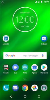 Motorola Moto G6 Plus - Chamadas - Como bloquear chamadas de um número específico - Etapa 2