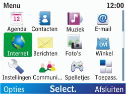 Nokia C3-00 - Internet - Internetten - Stap 2