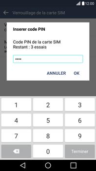 LG G4 - Sécuriser votre mobile - Personnaliser le code PIN de votre carte SIM - Étape 9