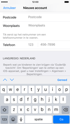 Apple iPhone 6 (iOS 10) - apps - account instellen - stap 22