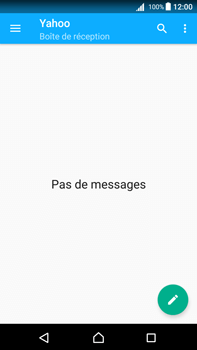 Sony Xperia Z5 Premium (E6853) - Android Nougat - E-mail - Configuration manuelle (yahoo) - Étape 13