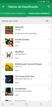 Samsung Galaxy Note 8 - Aplicações - Como pesquisar e instalar aplicações -  13
