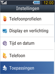 Samsung B3410 Star Qwerty - Voicemail - Handmatig instellen - Stap 4