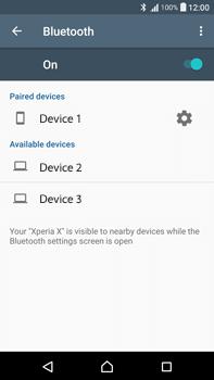 Sony F3211 Xperia XA Ultra - WiFi and Bluetooth - Setup Blue Tooth Pairing - Step 8