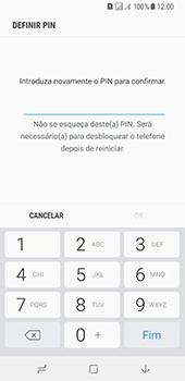 Samsung Galaxy A8 (2018) - Segurança - Como ativar o código de bloqueio do ecrã -  9