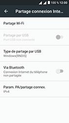 Alcatel U5 - Internet et connexion - Utiliser le mode modem par USB - Étape 6