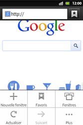 Sony ST27i Xperia Go - Internet - Navigation sur Internet - Étape 5
