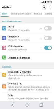 LG G6 - Internet - Configurar Internet - Paso 3