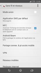 Sony Xpéria T3 - Internet et connexion - Désactiver la connexion Internet - Étape 5