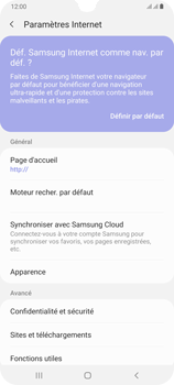 Samsung Galaxy A70 - Internet - configuration manuelle - Étape 27
