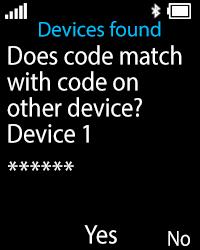 Nokia 108 - WiFi and Bluetooth - Setup Bluetooth Pairing - Step 12