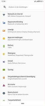 Sony Xperia 1 - Bellen - in het buitenland - Stap 4