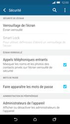 HTC One M9 - Sécuriser votre mobile - Activer le code de verrouillage - Étape 5