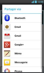 LG Optimus L5 II - Photos, vidéos, musique - Envoyer une photo via Bluetooth - Étape 8