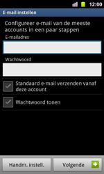 Samsung I8160 Galaxy Ace II - E-mail - Handmatig instellen - Stap 6