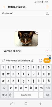 Samsung Galaxy S8 - Mensajería - Escribir y enviar un mensaje multimedia - Paso 18