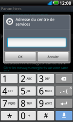 LG P990 Optimus 2X Speed - SMS - configuration manuelle - Étape 5