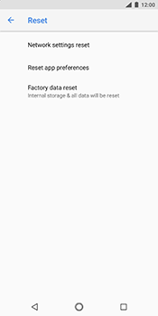 Nokia 7 Plus - Device - Reset to factory settings - Step 7