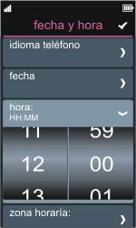 Nokia Asha 311 - Primeros pasos - Activar el equipo - Paso 7