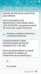 Samsung Galaxy A3 - Primeros pasos - Activar el equipo - Paso 6