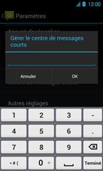 Acer Liquid Glow E330 - SMS - Configuration manuelle - Étape 6
