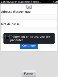 BlackBerry 9810 Torch - E-mail - Configuration manuelle - Étape 9