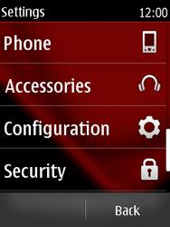Nokia Asha 300 - Internet - Manual configuration - Step 4