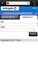 HTC T320e One V - Internet - Internetten - Stap 11