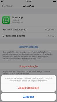 Apple iPhone 8 Plus - Aplicações - Desinstalar/remover aplicação -  7