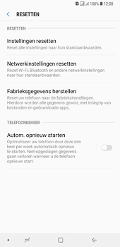 Samsung Galaxy A6 Plus - Toestel reset - terugzetten naar fabrieksinstellingen - Stap 6