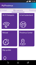 HTC One M8 - Applicaties - MyProximus - Stap 22