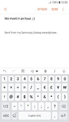 Samsung Galaxy J5 (2017) - E-mail - Sending emails - Step 11