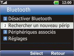 LG C360 Golf - Bluetooth - Jumeler avec un appareil - Étape 5