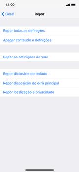 Apple iPhone XS - Repor definições - Como repor definições de fábrica do telemóvel -  6