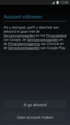 Samsung Galaxy K Zoom 4G (SM-C115) - Applicaties - Account aanmaken - Stap 14