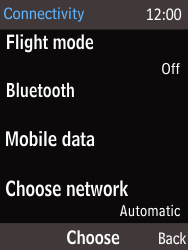 Nokia 216 - Network - Usage across the border - Step 5